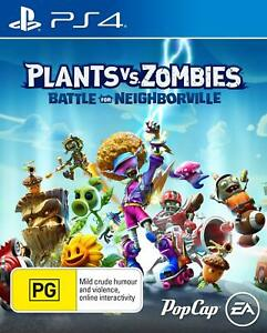 Plants vs Zombies: Battle for Neighborville PS4 Playstation 4 Brand New Sealed