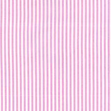 Michael Miller a righe rosa e bianco tessuto di cotone FQ Quilting
