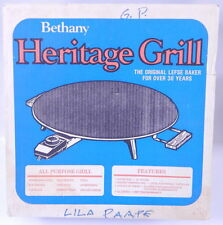USed Nonstick LEFSE/TORTILLA GRILL Bethany Heritage Silverstone model 730 in box