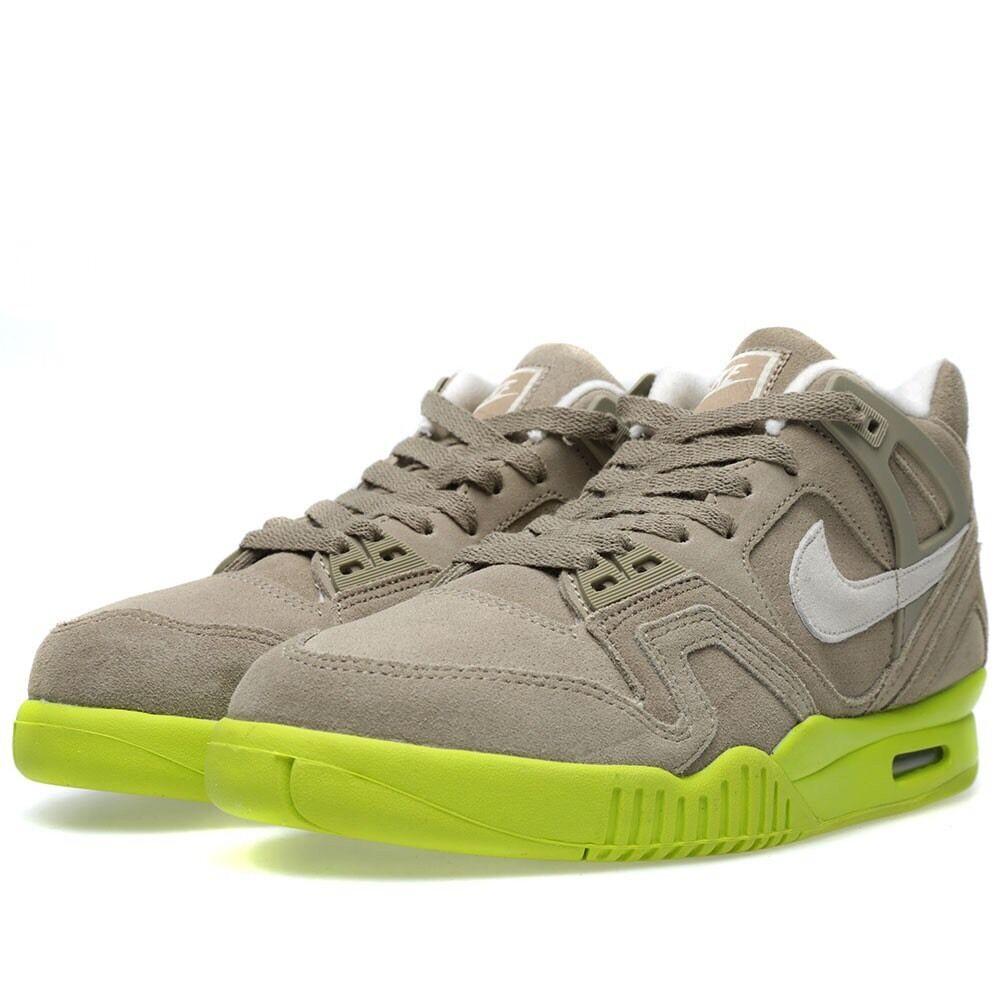 Nike Air Tech Challenge 10 II Bamboo Suede SZ 10 Challenge 644767-220 Yeezy Sole Agassi estacional de recortes de precios, beneficios de descuentos 5ad930