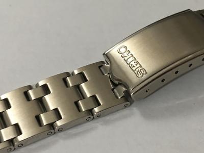 Beliebte Marke Seiko 19mm Soild Stainless Steel Gents Watch Strap,new,(ss-7)