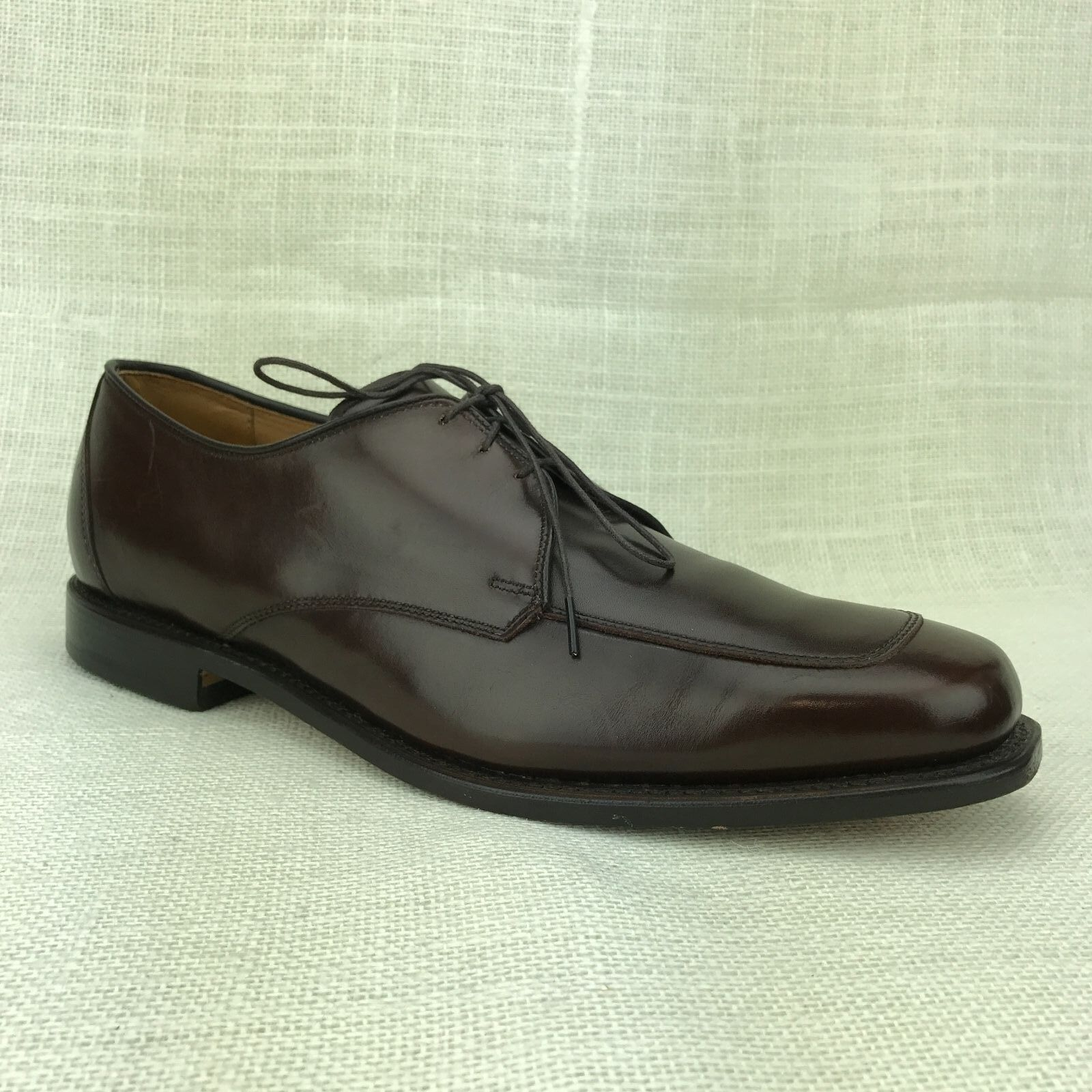 MINT Allen Edmonds Burton US 10.5 D Dark Brown Leather Formal Mens Dress Oxfords