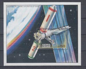 Astronautique-Espace-Sierra-Leone-Bloc-121-MNH