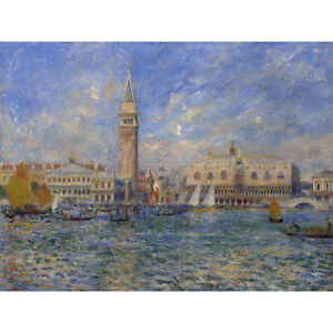 Renoir-Venice-The-Doges-Palace-1881-Painting-Huge-Wall-Art-Poster-Print