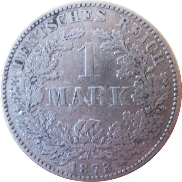 J 9   1  Mark KAISERREICH  1873 A in  VZ   630 053