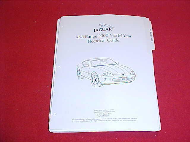 2000 New Jaguar Xk8 Xk 8 Electrical Guide Wiring Diagrams