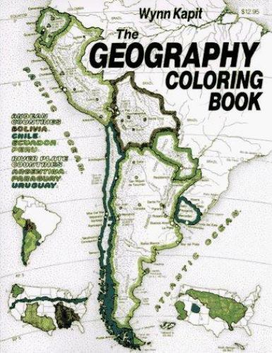 Geography Coloring Book by Kapit, Wynn