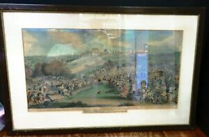 Antique Easter Monday Turning Out The Stag At Bucket Epping Forest Print