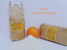 weiße TONERDE Extrafein Pulver Gesichts Masken Peelings Haare Badezusatz 1 kg
