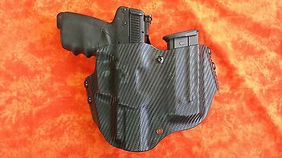 Holster With Extra Mag Olive Drab Od Green Kydex Fits Fn 5 7 Five Seven Herstal Ebay