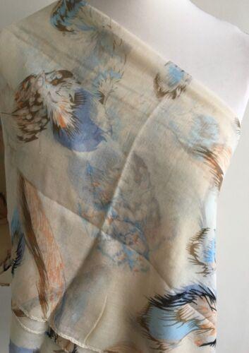 **NEW** SP77 Maxi//Oversize Large Feather Scarf//Hijab//Sarong//Wrap Various Colours