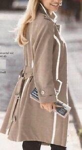 Gr Sabbia Coat 50 Short Coat Coat Coat Transitional Style G Trench vzE8xq