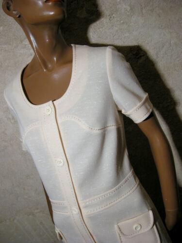 Chic Robe 40 Vestido 1970 Retro Vtg Jurk Vintage Kleid Abito 70s 70er True rwqrg