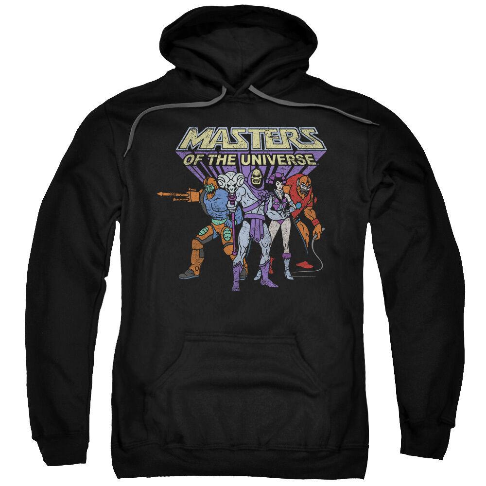 Masters of the Universe TEAM OF VILLAINS Vintage Style Sweatshirt Hoodie