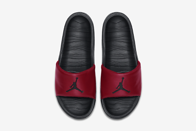 Jordan Break Slide Homme diapositives Rouge Confortable