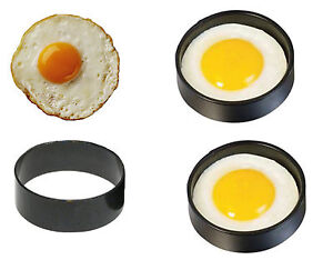 Simple Non Stick Metal Egg Anneaux Friture Perfect Circle Round Frit/poché Moule Friture-afficher Le Titre D'origine Une Gamme ComplèTe De SpéCifications