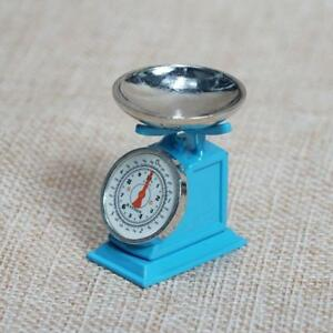 For-1-12-Dollhouse-Miniatures-Kitchen-Metal-Scale-Model-Blue-Accessories