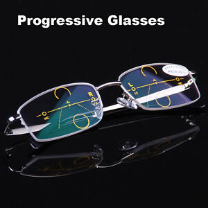 Metal-Frames-Progressive-Glasses-Varifocal-Lens-Spectacles-Reading-and-Distance