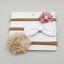 3pcs//Set Newborn Headband Ribbon Elastic Baby Headdress Kids Hair Band Girl Bow