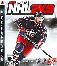PLAYSTATION 3 NHL 2K9 BRAND NEW PS3 HOCKEY VIDEO GAME