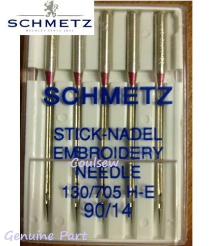 STRONG TOP QUALITY EMBROIDERY MACHINE NEEDLES SCHMETZ Size 90//14