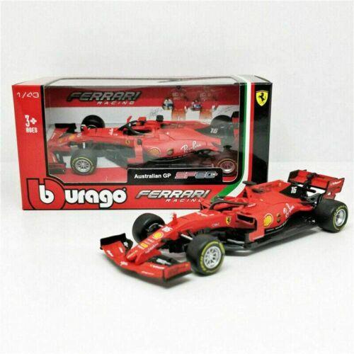 Bburago 1:43 Formula 1 Racing 2019 Ferrari Charles Leclerc #16   18-36815CL