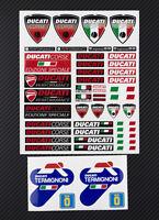 Ducati Termignoni Motorrad Aufkleber blatt Laminiert 50 stickers Monster 1198