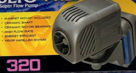 TAAM SEIO  P320 PROP PUMP With MAGNETIC MOUNT  Powerhead   Water Pump