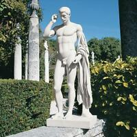 Ancient Roman Handsome Marcellus Nude Male Home Garden Statue