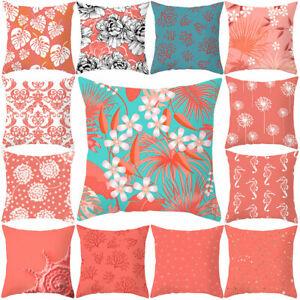 PM-Living-Coral-Throw-Pillow-Case-Cushion-Cover-Home-Office-Sofa-Bed-Decor-De