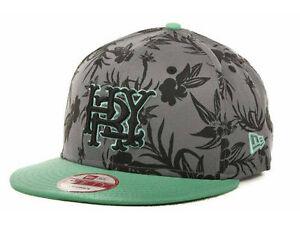 cd74fd676fa32 HURLEY New Era MAJOR LEAGUE Snapback Hat Grey Green OSFA ( 30 ...