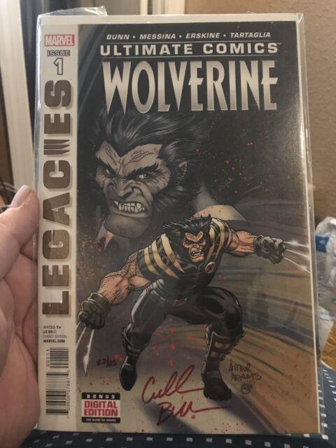 Ultimate Comics Wolverine #1 Signed By Writer/Novelist Cullen Bunn COA