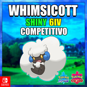Whimsicott-Ultra-Shiny-competitivo-Pokemon-Sword-amp-Shield-6IV