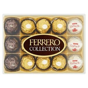 Details About Ferrero Rocher Collection 15 Pieces Chocolate Box Easter Present Gift 146344