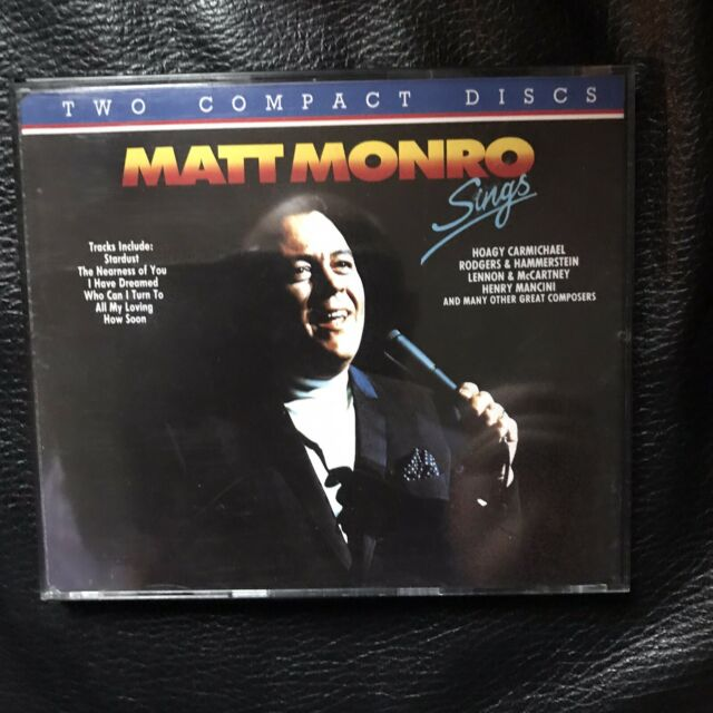 Matt Monro Sings 1991 Mfp 2 Disc