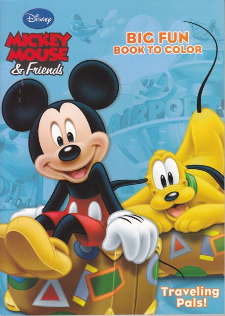 Disney Mickey Mouse Coloring Book ~ Traveling Pals! EBay