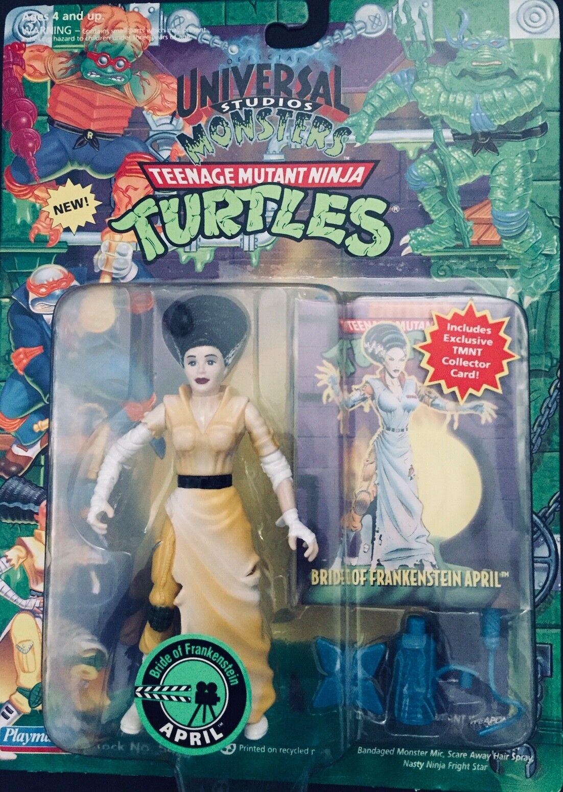 Das ursprüngliche 1994 ninja turtles  frankensteins braut - april - neue