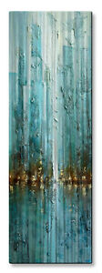 Metal Wall Art Contemporary Abstract Nueva City Modern Home Decor