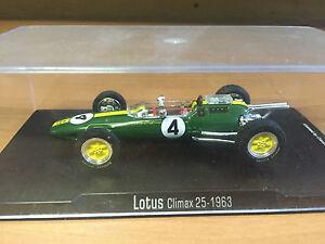 1:43 LOTUS CLIMAX 25 08 1963 RBA F1 - Jim Clark