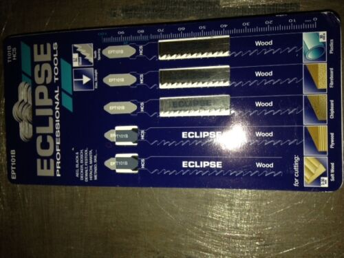 ECLIPSE WOOD JIGSAW BLADES X 1 PACK  EPT101B