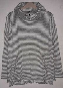Rrp 15 12 Size Roll Neck £35 Ll Dh182 Dash Cream Uk Top Stripe S7q7cfR