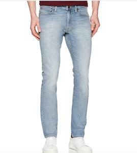 Mens Lee Luke Azzurro Skinny Stretch Fit Jeans (SECONDS) RRP £85 Ref ... e27fe04fd95