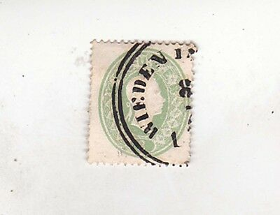 H1411 Lovely Luster Industrious 1860/1 Sc 13 Used Europe Stamps
