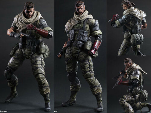 Play Arts Kai Metal Gear Solid V The Phantom Pain Venom Snake Figure Figurine