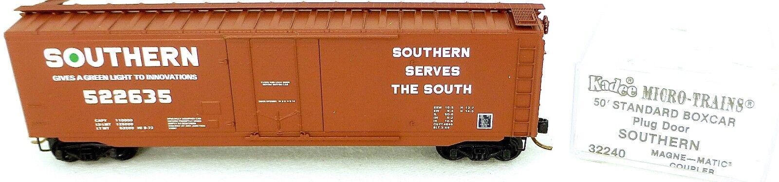 50´ Standard Boxcar SOUTHERN 522635 Micro Trains Line 32240 n 1 160 c å