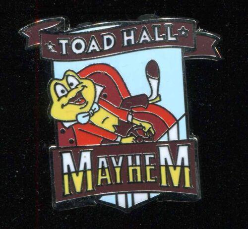 DLR Mascots Mystery Toad Hall Mayhem Disney Pin 115886