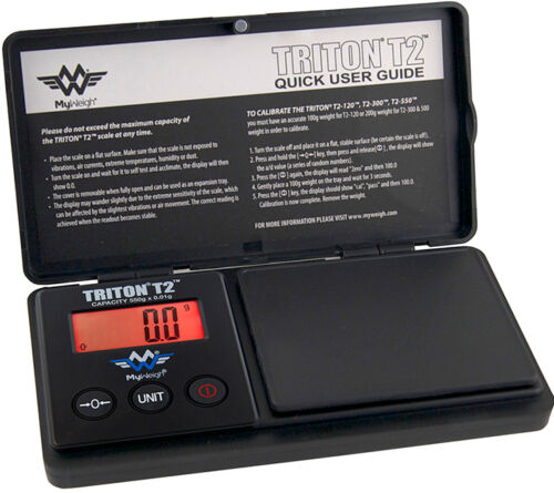 MyWeigh Triton T2 200 Feinwaage 200g 0,01g Präzisionswaage Goldwaage digital