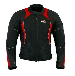 Motorcycles-Jackets-Summer-Cordura-Mesh-Motorbike-CE-Removable-Protector-Armour