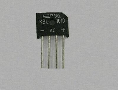 KBU1010 KBU-1010 10A 1000V Single Phases Diode Rectifier Bridge Single