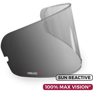 Details about Sun/React Pinlock Anti Fog Insert Helmet Visor for HJC  Motorbike Helmet DKS111